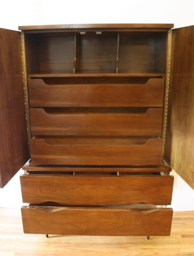 Image of: Modern Tall Armoire