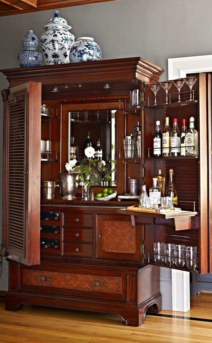 Image of: Modern Wine Armoire