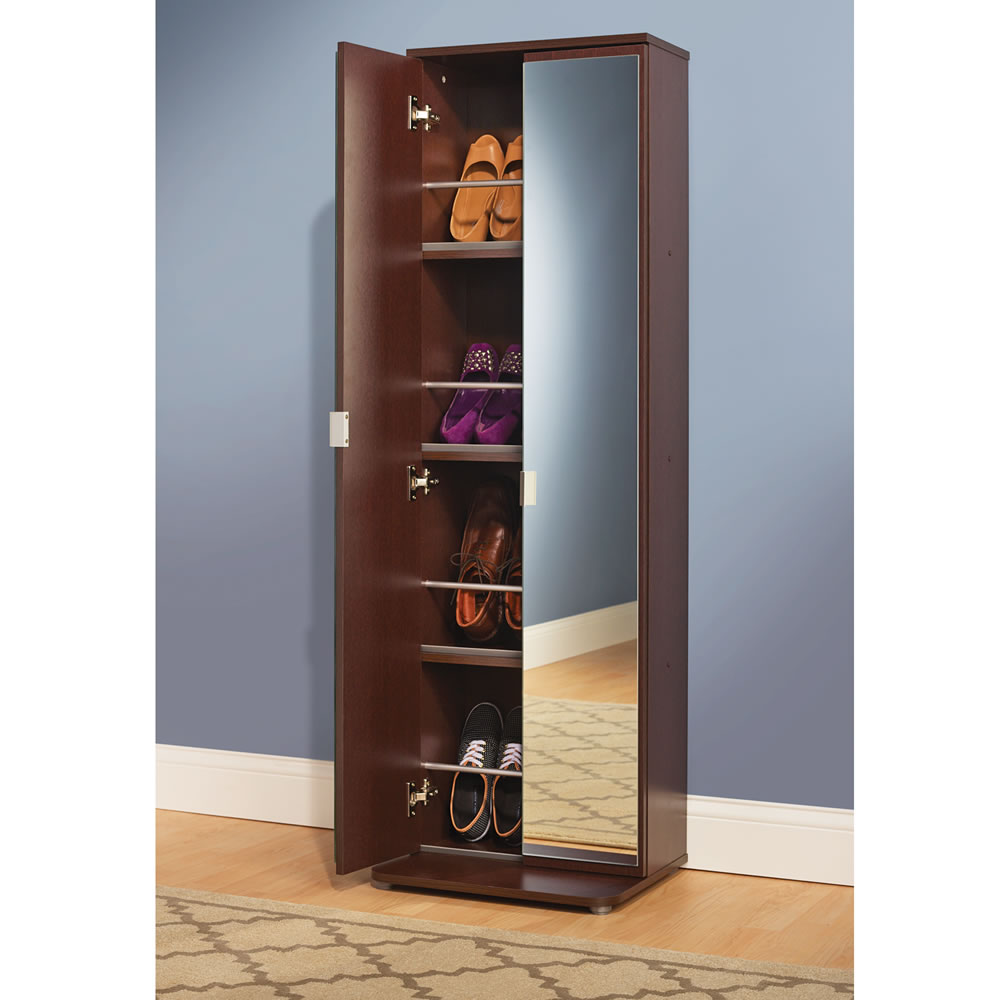 Image of: Narrow Shoe Armoire