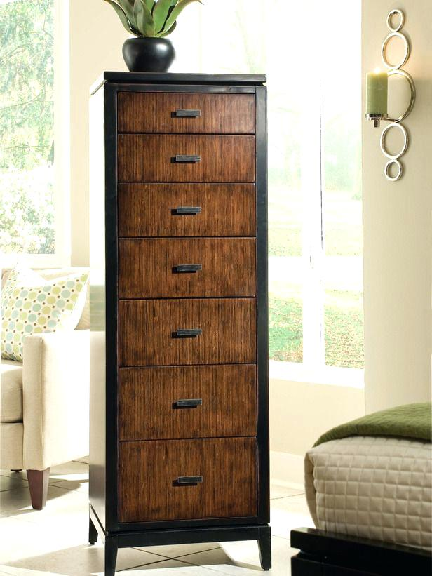 Image of: Narrow Tall Jewelry Armoire