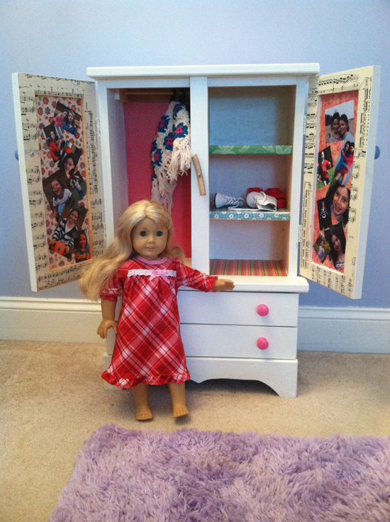 Picture of: Nice American Girl Armoire