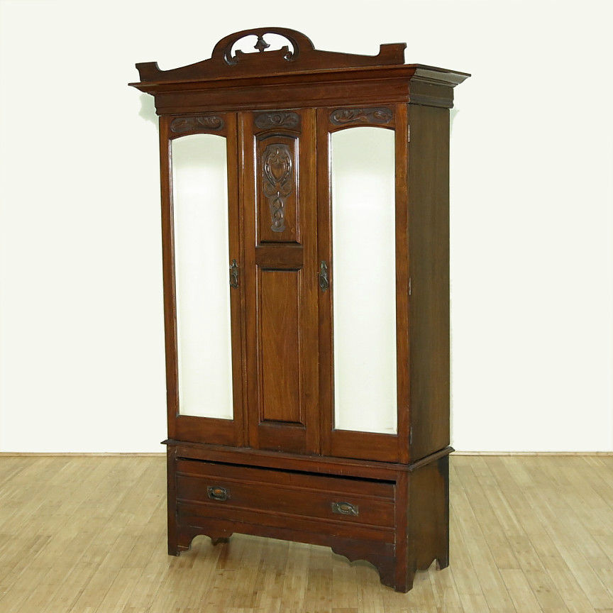 Nice Antique Armoire Wardrobe