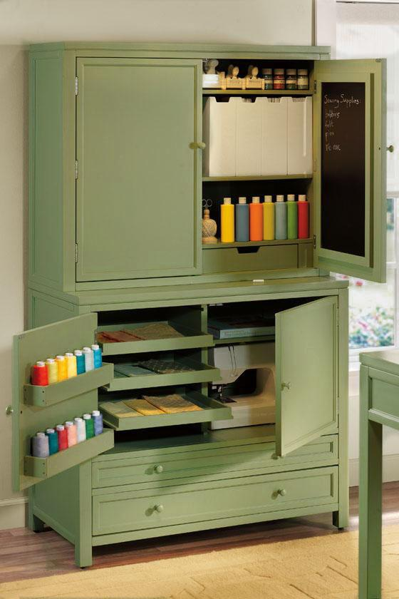 Image of: Nice Craft Storage Armoire