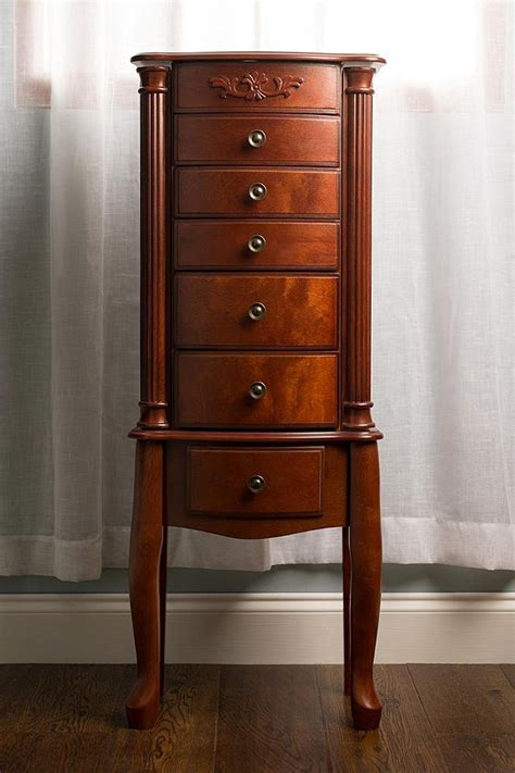 Image of: Nice Jewelry Cabinet Armoire