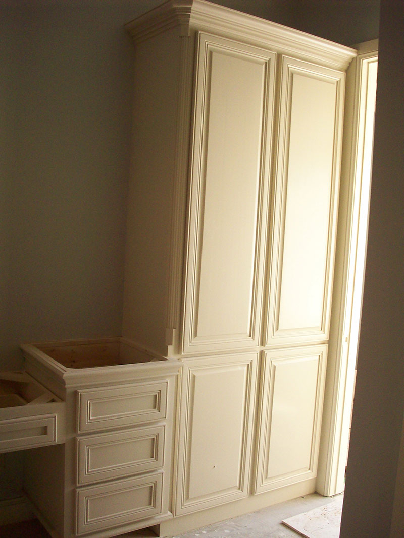 Image of: Nice Linen Armoire
