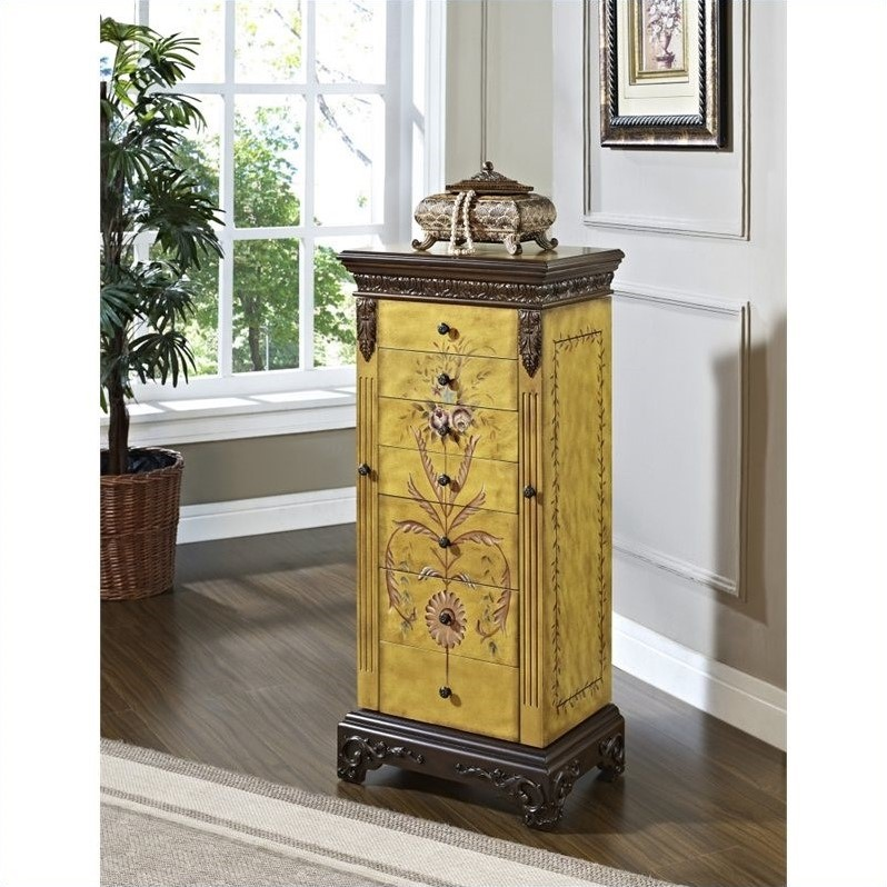 Picture of: Nice Powell Jewelry Armoire