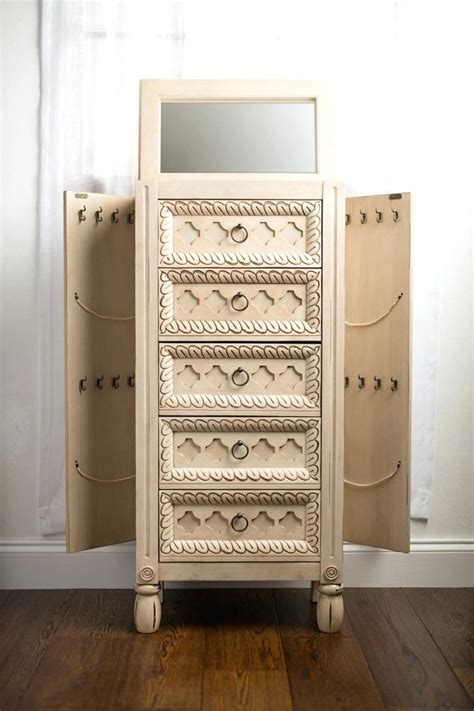 Image of: Nice Rustic Jewelry Armoire