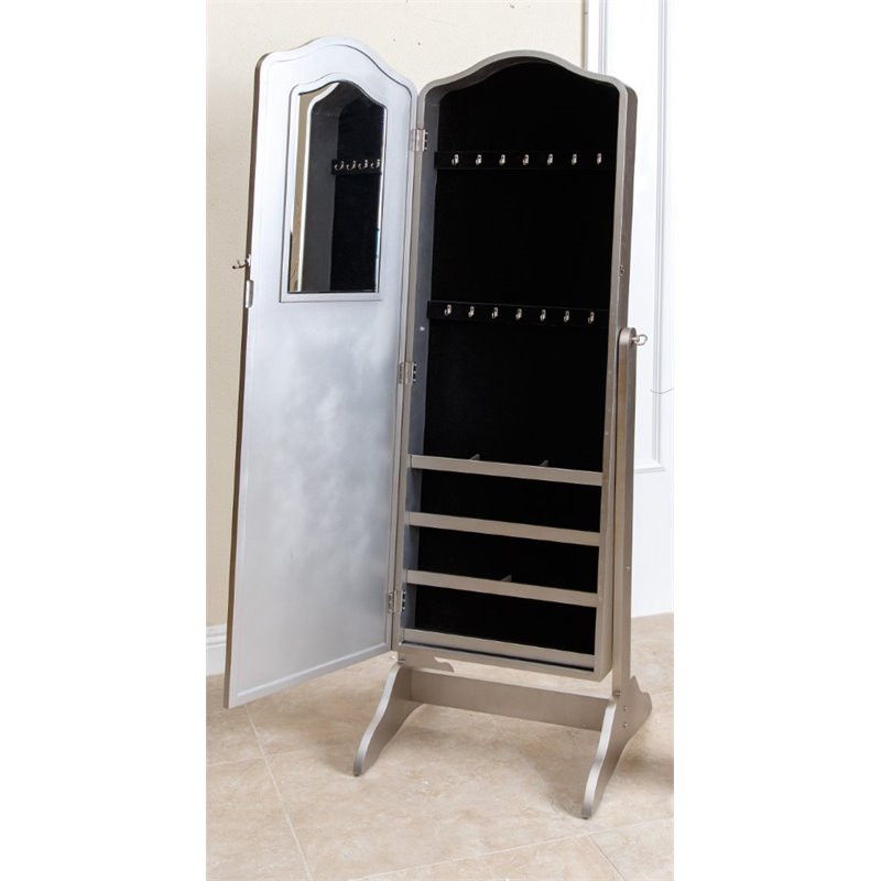 Picture of: Picture Floor Mirror Jewelry Armoire