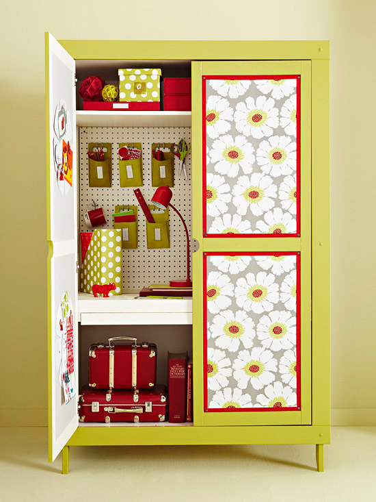 Image of: Restyled ACraft Storage Armoire