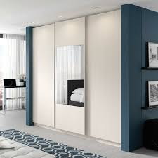 Image of: Review Armoire with Mirror Door