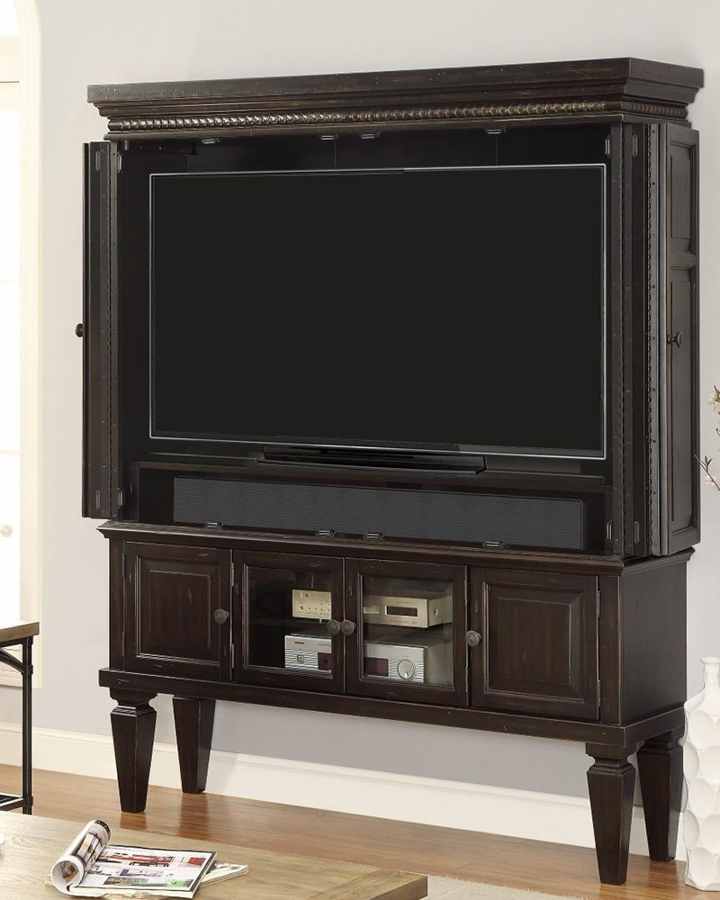 Image of: Review Entertainment Armoire