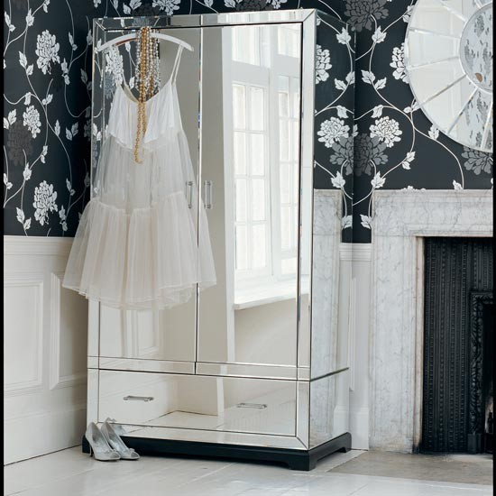 Picture of: Review Mirrored Armoire Wardrobe