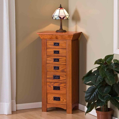 Review Oak Jewelry Armoire