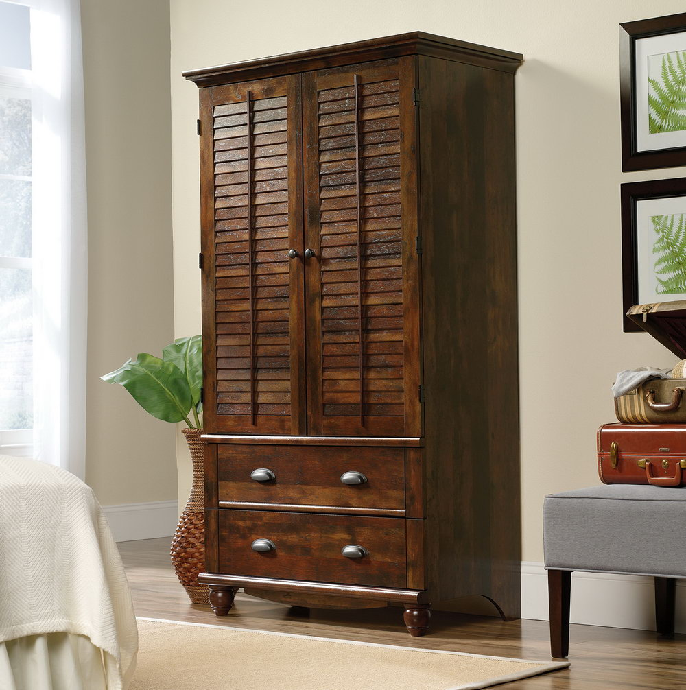 Review Sauder Computer Armoire