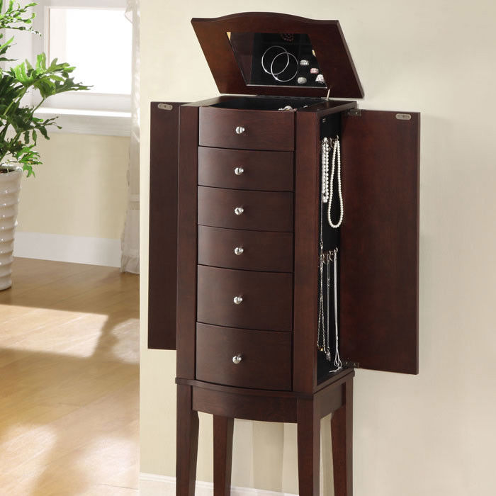 Image of: Review Tall Armoire