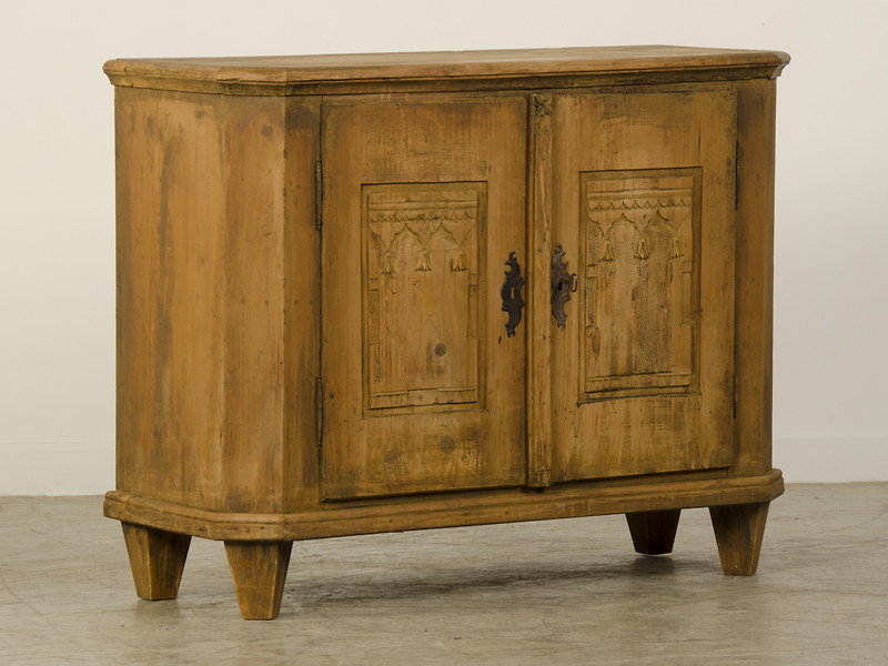 Picture of: Rustic Armoire with Drawers and Shelves