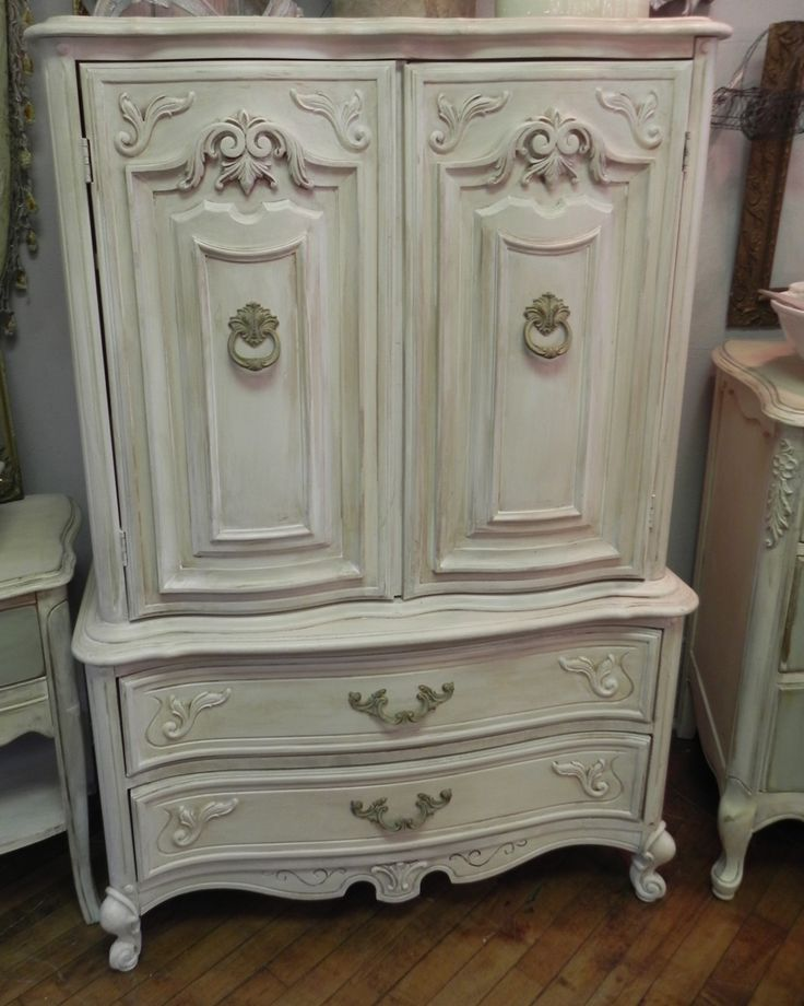 Image of: Rustic French Country Armoire