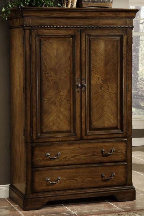 Picture of: Rustic Mens Armoire
