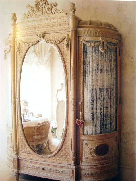 Image of: Rustic Mirror Jewelry Armoire