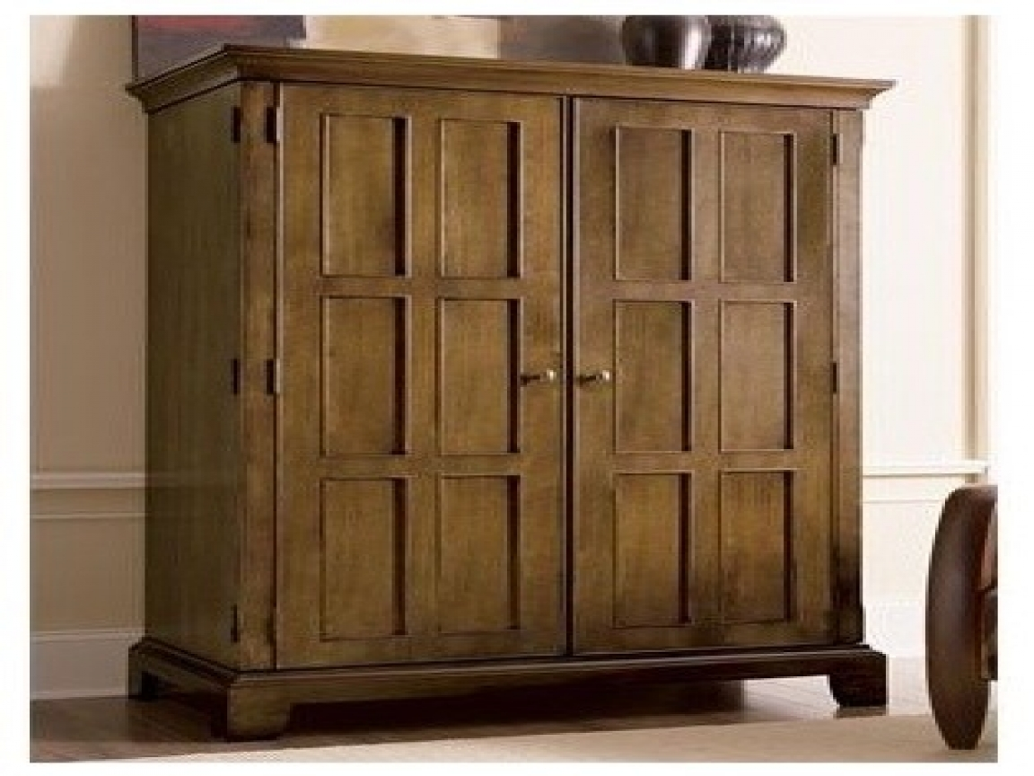 Picture of: Rustic Office Armoire