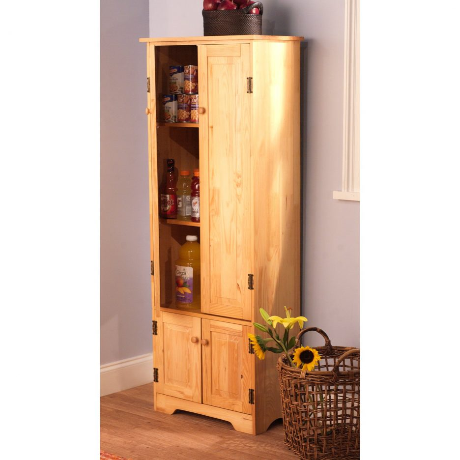 Picture of: Rustic Pantry Armoire