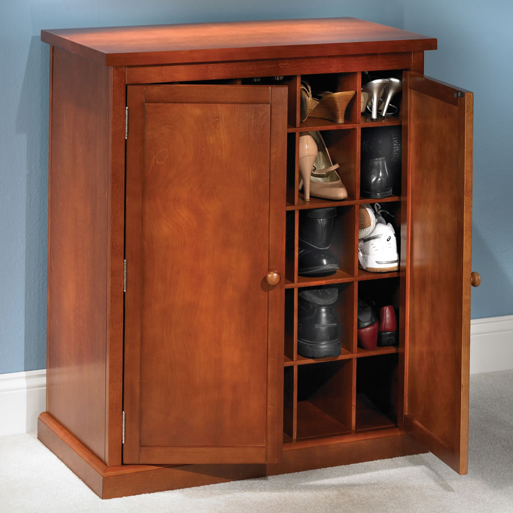 Rustic Shoe Armoire