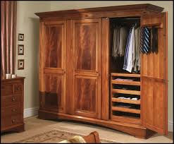 Picture of: Rustic Wood Armoire Wardrobe