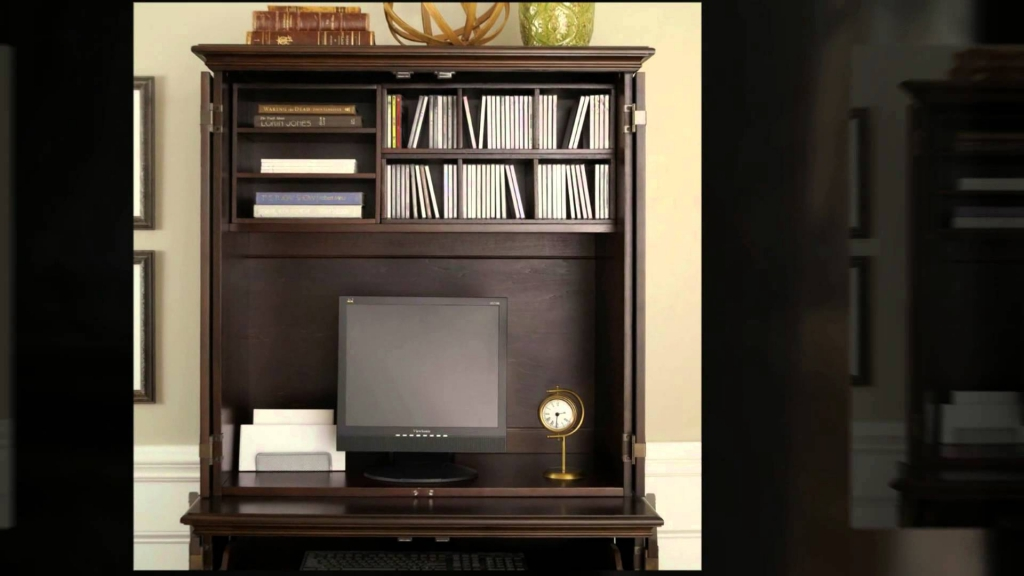 Picture of: Sauder Computer Armoire Desk