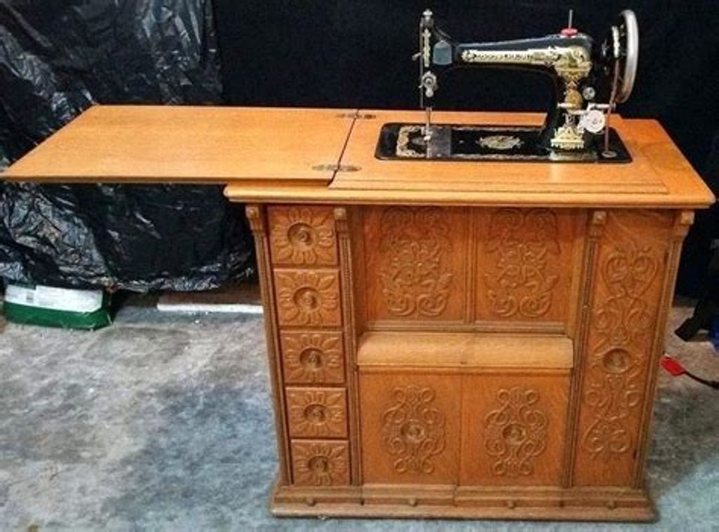 Image of: Sewing Armoire Cabinet By Singer