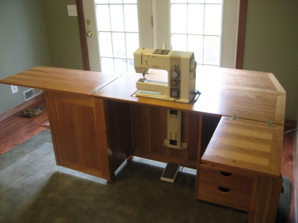 Image of: Sewing Armoire Plans