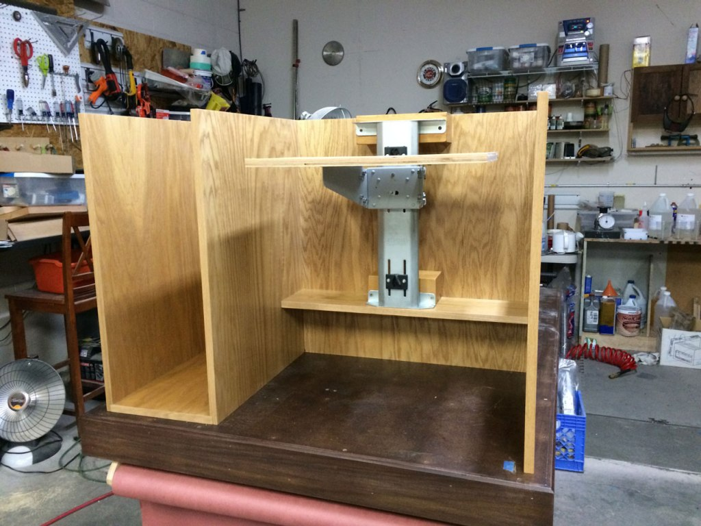 Image of: Sewing Armoire With Pull Out