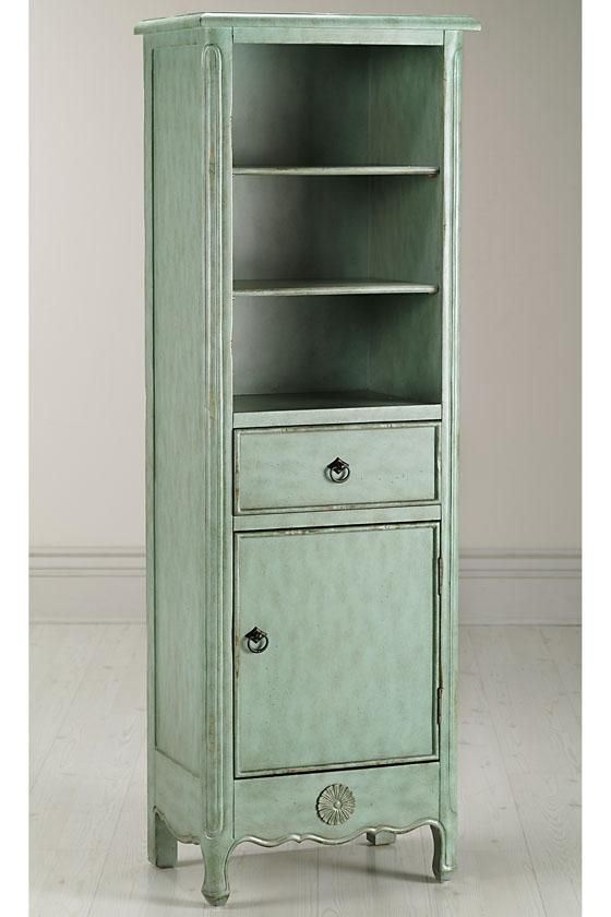 Image of: Shabby Chic Linen Armoire