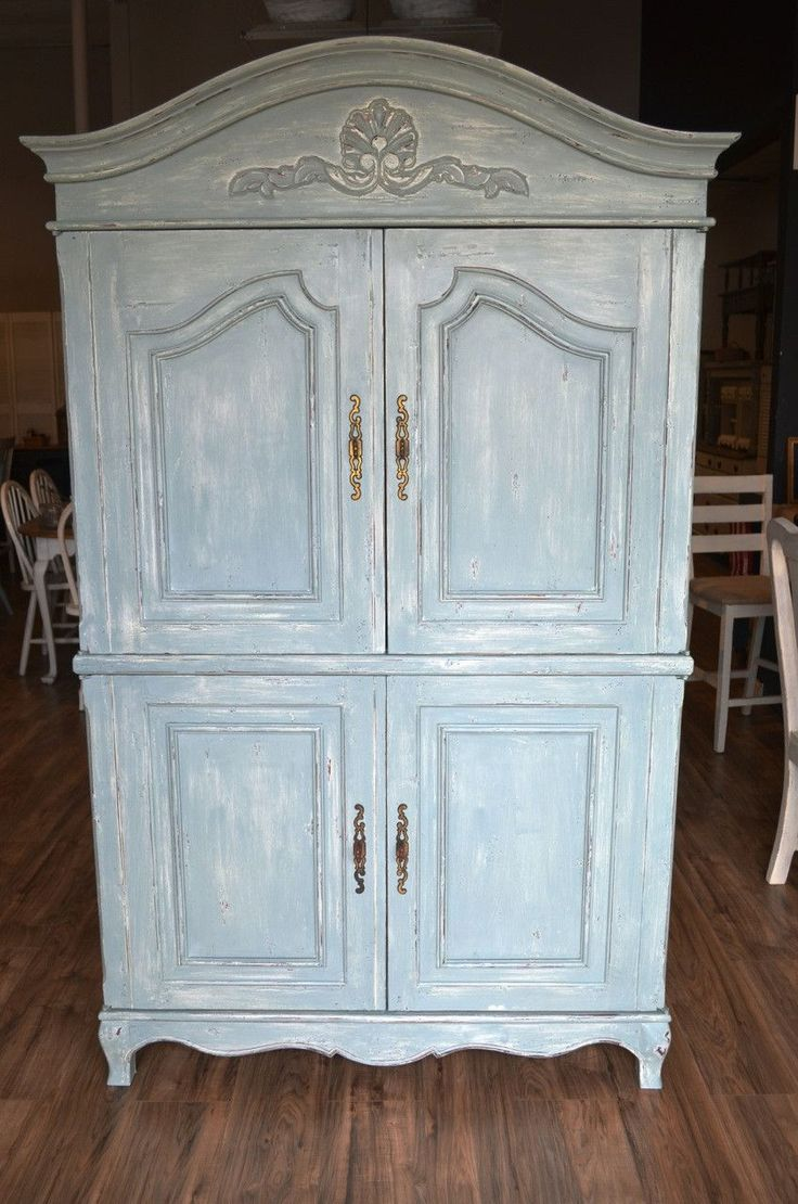 Picture of: Shabby Chic Nursery Armoire
