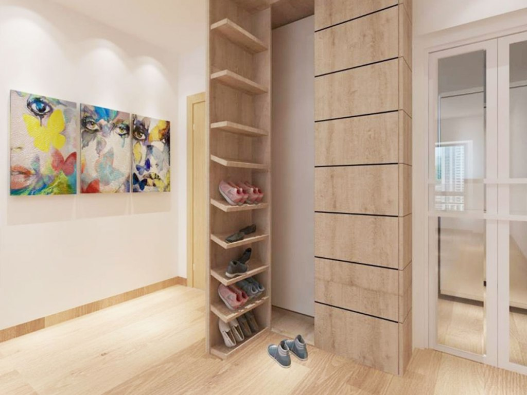 Image of: Shoe Armoire Design