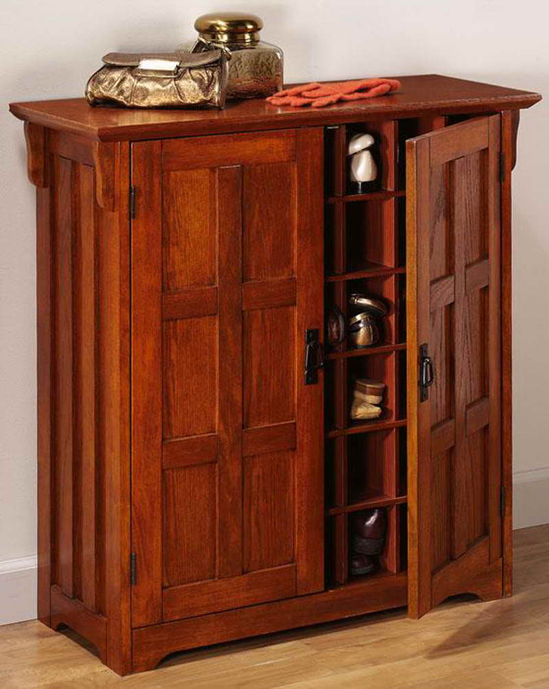 Image of: Shoe Entryway Armoire