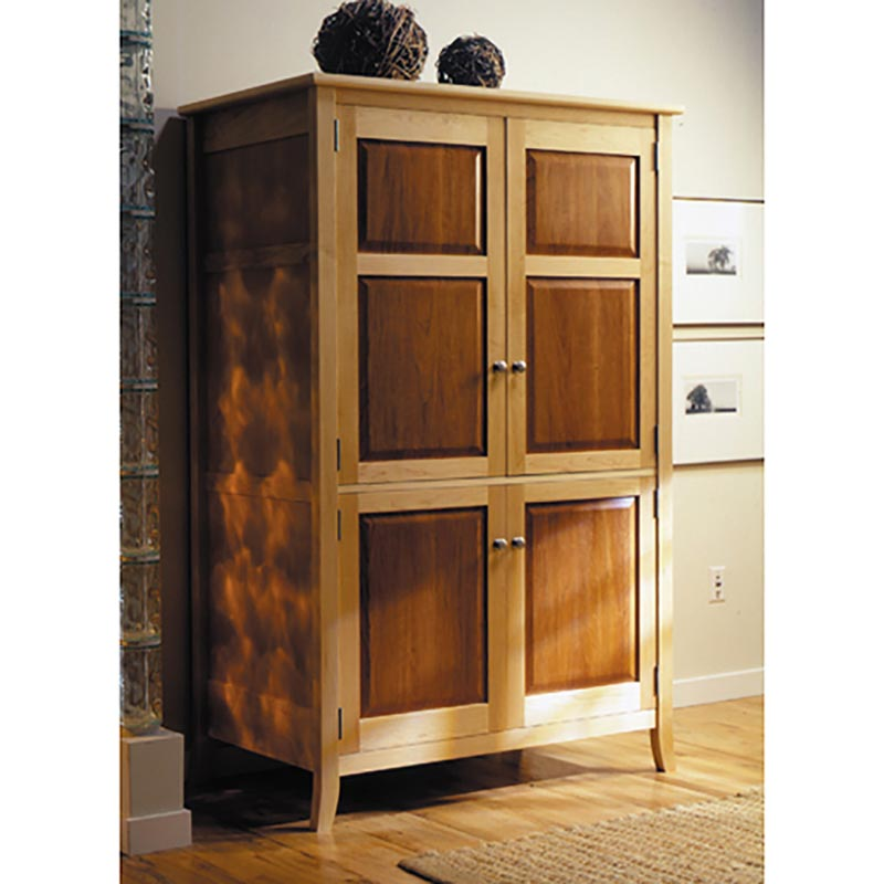 Image of: Simple Armoire Entertainment Center
