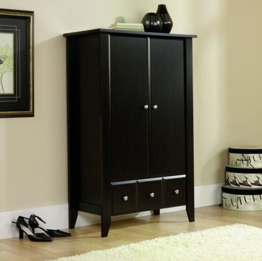 Image of: Simple Closet Armoire