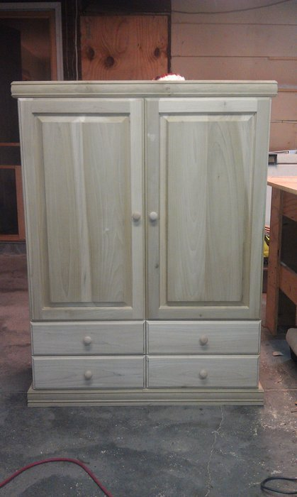 Image of: Simple Doll Armoire