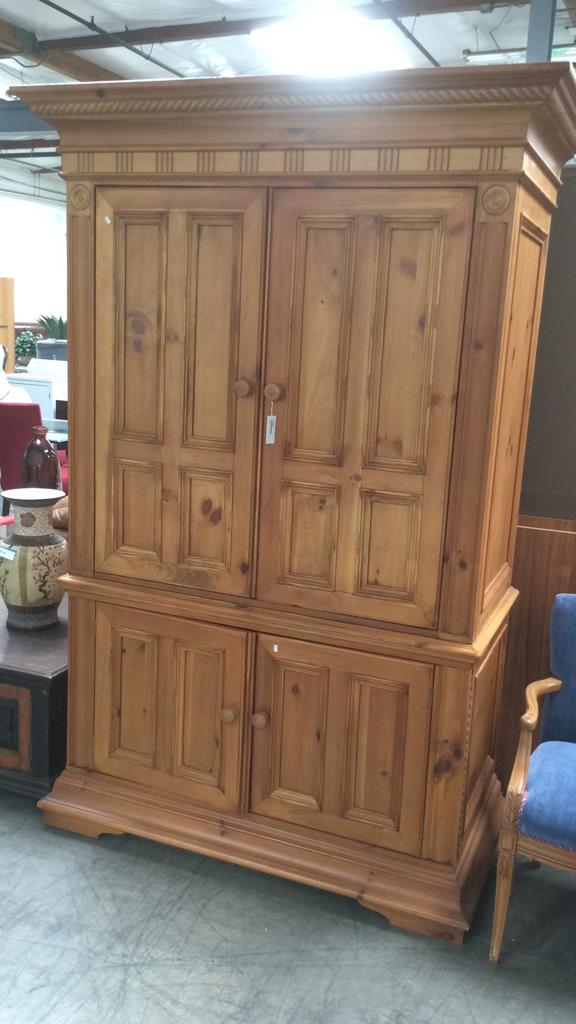 Picture of: Simple Hooker Armoire
