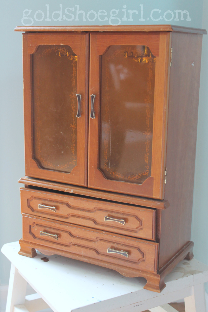 Picture of: Simple Jewelry Box Armoire