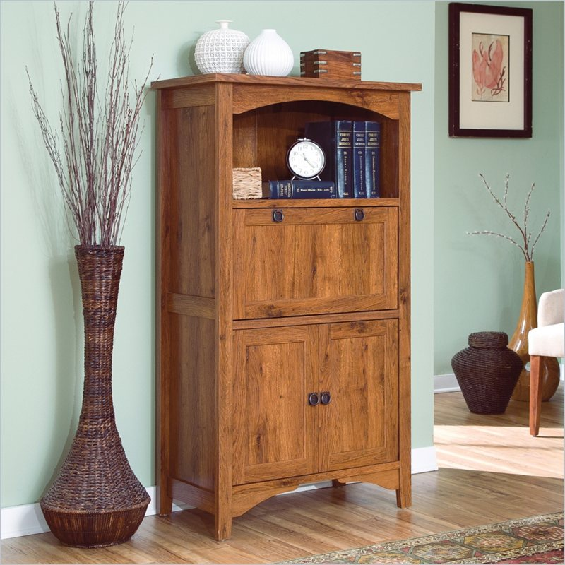Picture of: Simple Sauder Computer Armoire