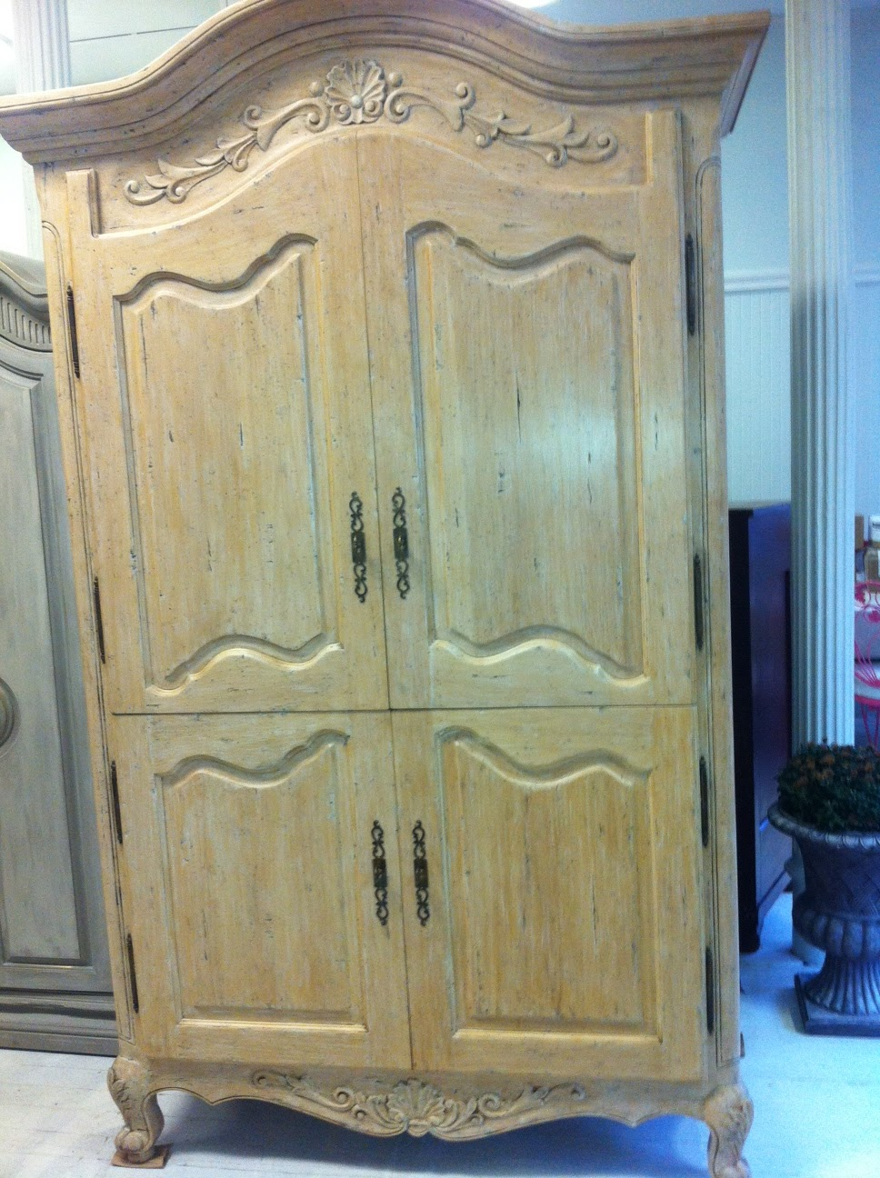 Simple Shabby Chic Armoire