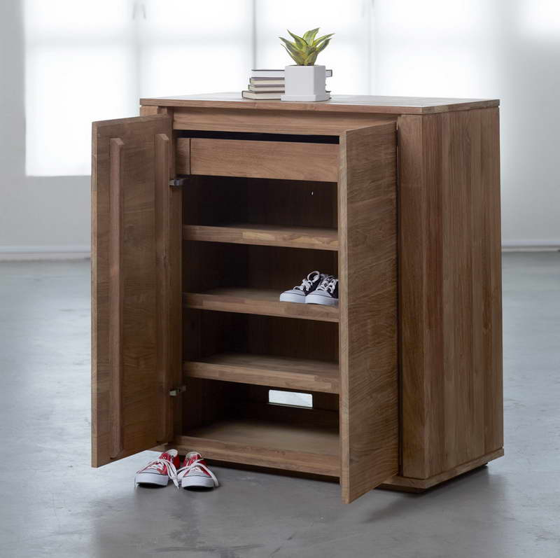 Image of: Simple Shoe Armoire