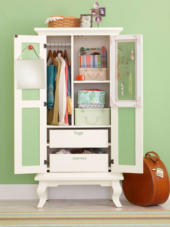Simple Small Armoire