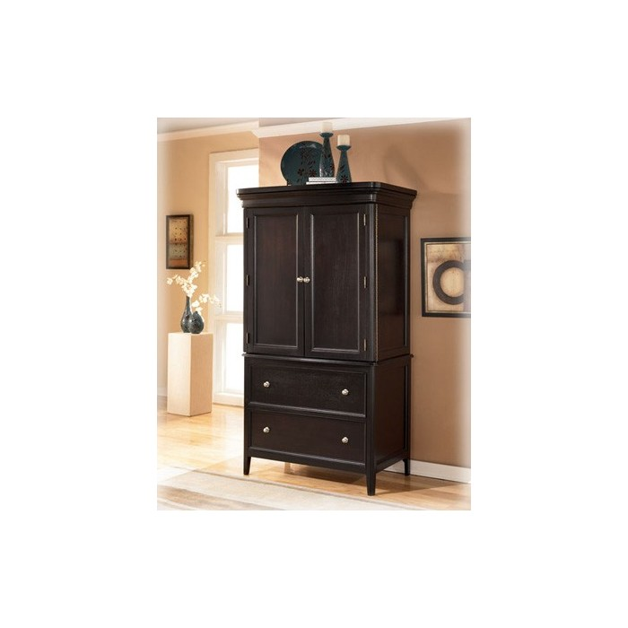 Image of: Small Ashley Furniture Armoire