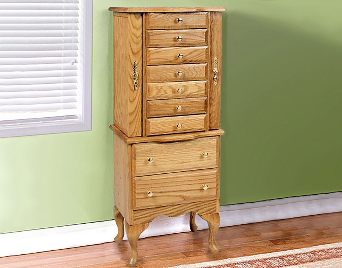 Image of: Small Jewelry Chest Armoire