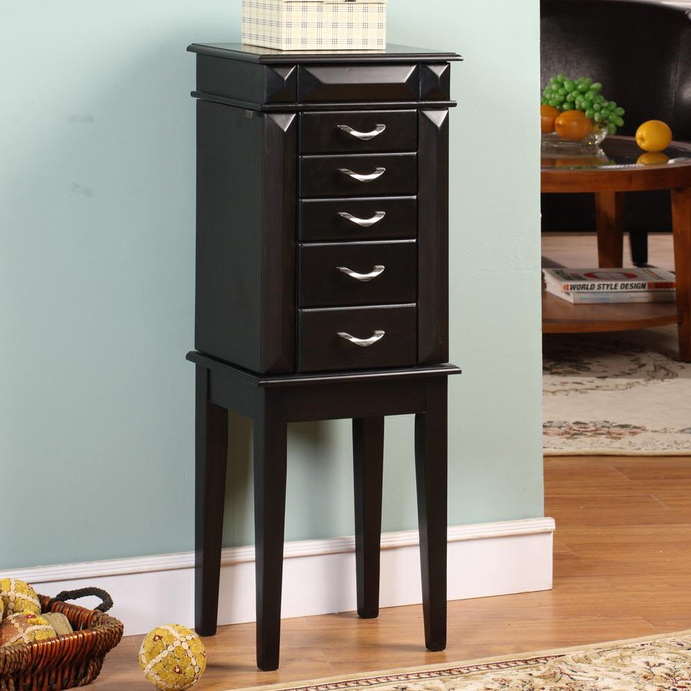 Picture of: Small Modern Jewelry Armoire