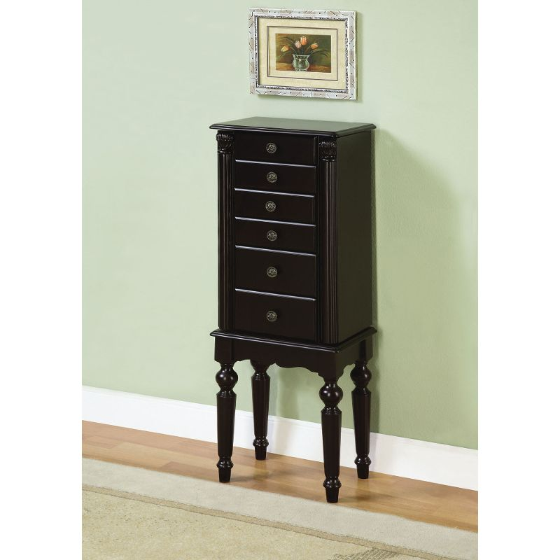 Small Powell Jewelry Armoire
