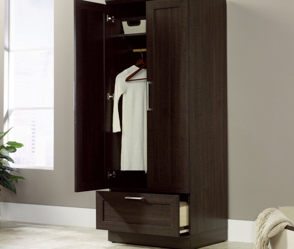 Picture of: Small Wardrobe Armoire Ikea