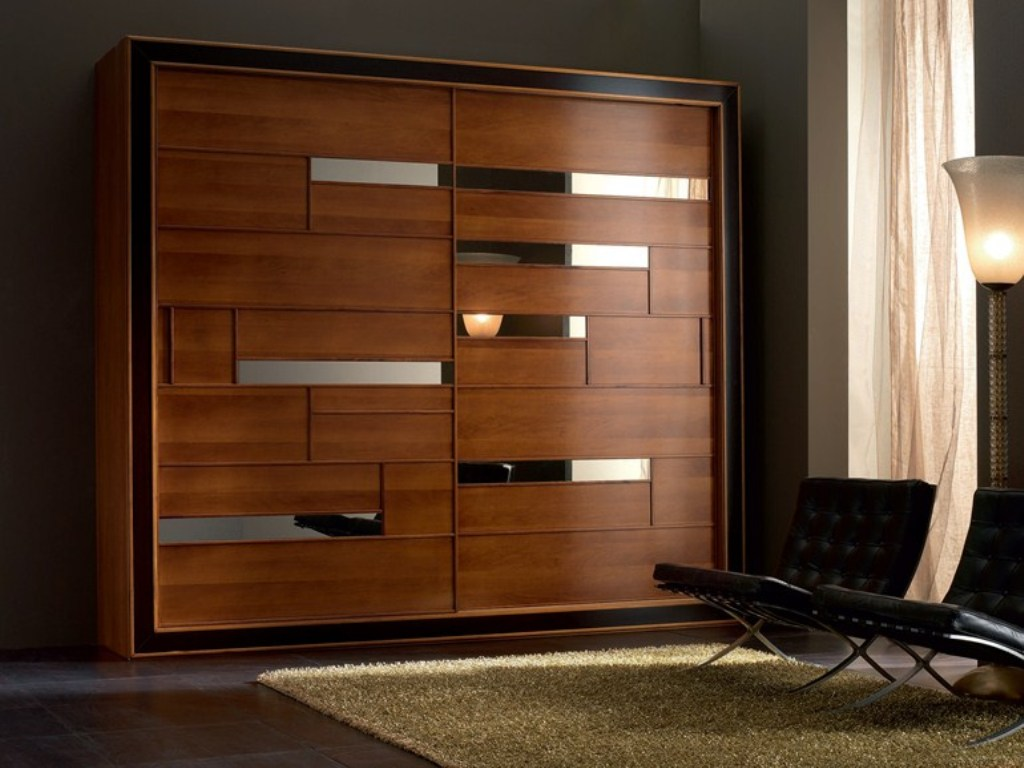 Image of: Solid Wood Armoires And Wardrobes